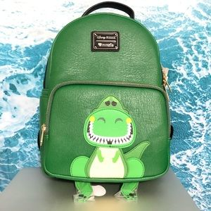 Loungefly Disney Pixar Toy Story Rex Mini Backpack